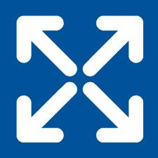 pfeile-blau